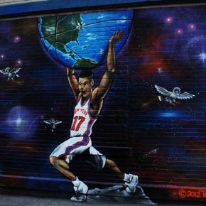 Lifestyle: March 14th SHOTS of RETNA, Jeremy Lin Murals