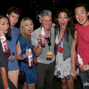 JDOT single SHOT: Emmy Rossum and Friends at Made in America