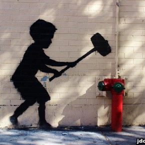 Lifestyle: Banksy's 'Better Out Than In' NYC Outdoor Showcase