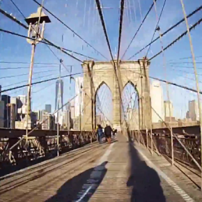 JDOT TV (GoPro): From Brooklyn to Manhattan via the Brooklyn Bridge