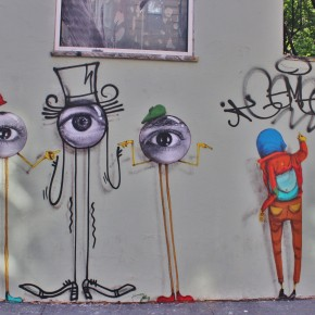 Lifestyle: Os Gemeos X Baron Andre x JR Come Together for Street Art in the LES